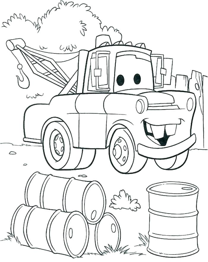 700x881 Coloring Pages Truck Monster Tow Truck Coloring Pages Also Monster