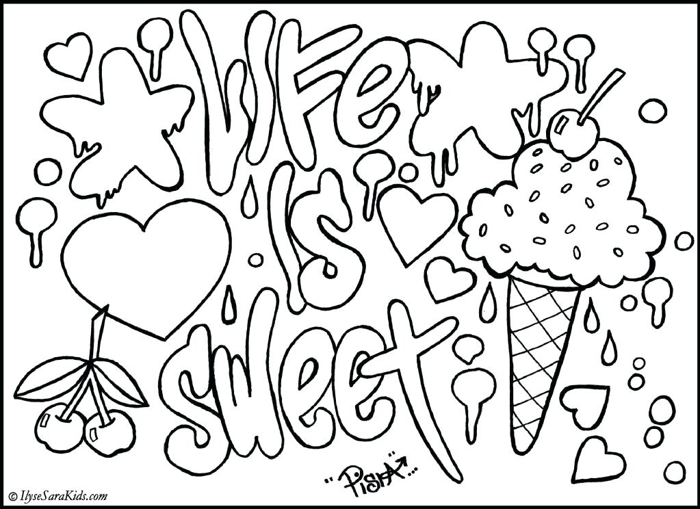 1023x744 Coloring Pages For Older Girls Coloring Page For Teens Large Size