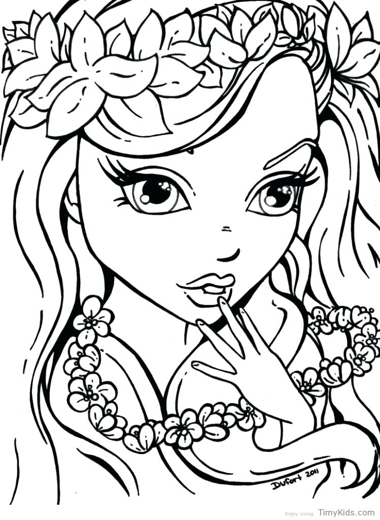 749x1024 Coloring Pages For Older Girls Coloring Pages For Teenagers Girls