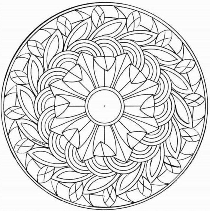 711x712 Coloring Pages For Teen Girls