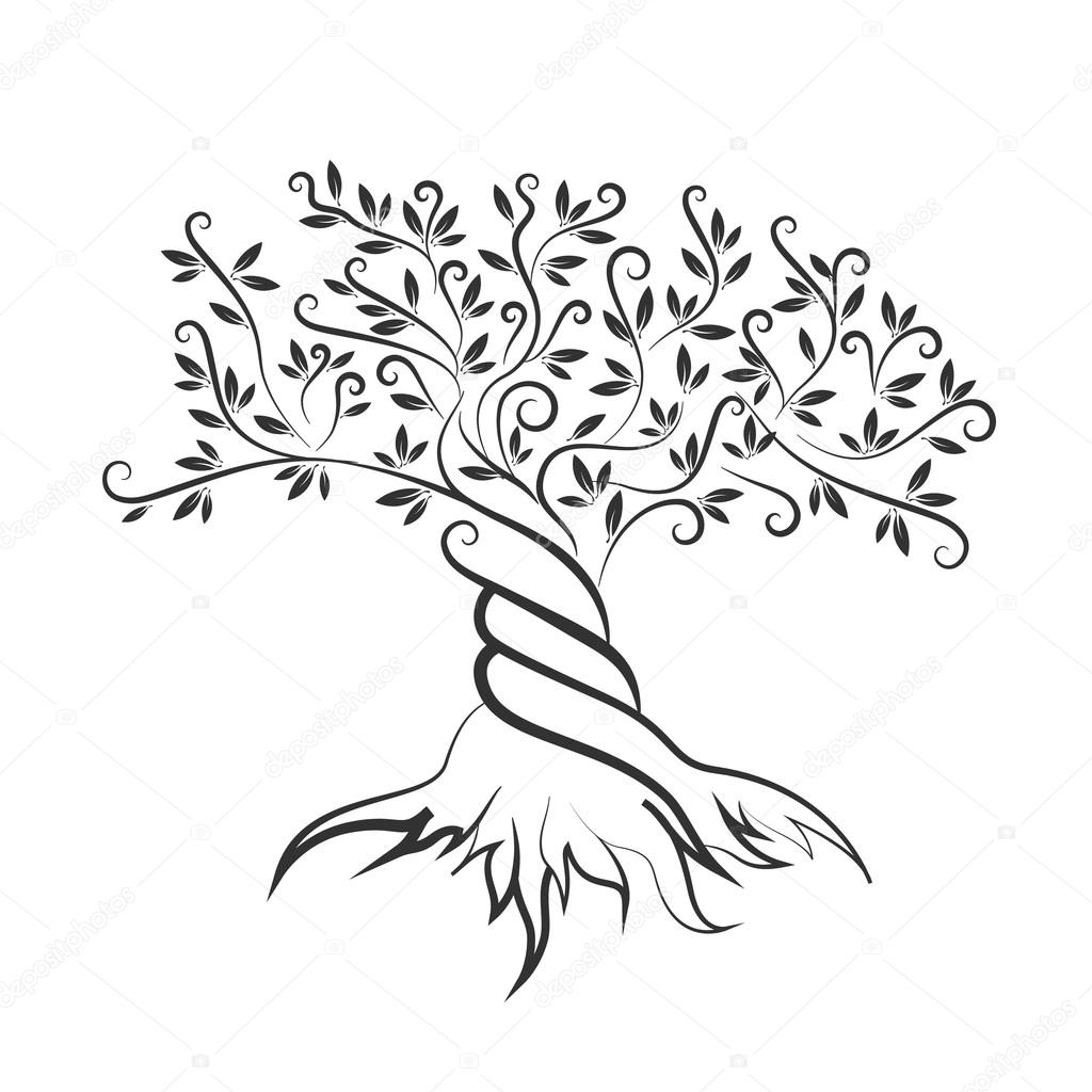 Olive Tree Coloring Page