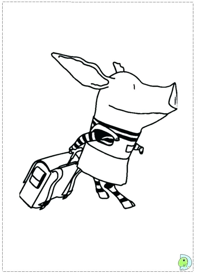 691x960 Olivia The Pig Coloring Pages The Pig Coloring Pages Pig Colouring
