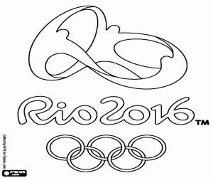 300x250 Olympic Coloring Pages Olympic Ring Image To Colour In Click Here