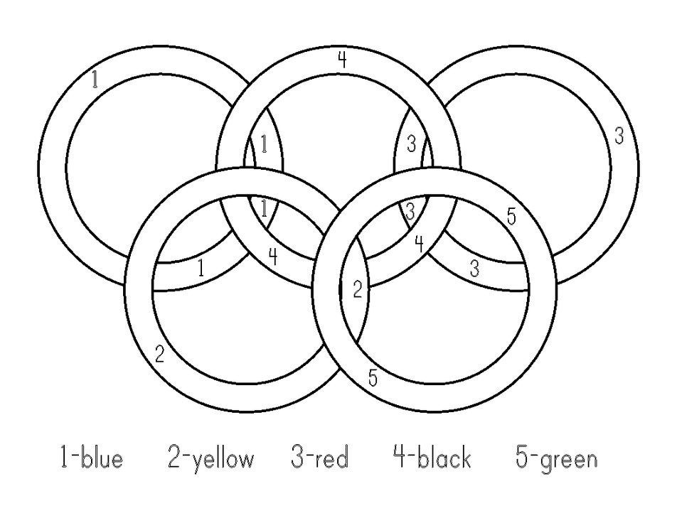 952x736 Olympic Rings Coloring Pages Center Play Olympic
