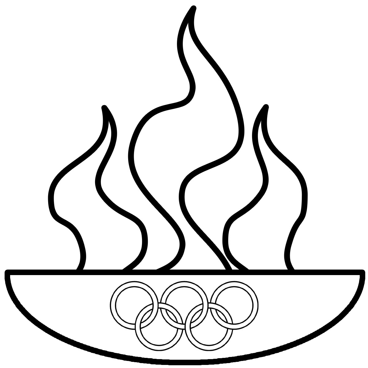 1200x1200 Ring Clipart Winter Olympics Many Interesting Cliparts
