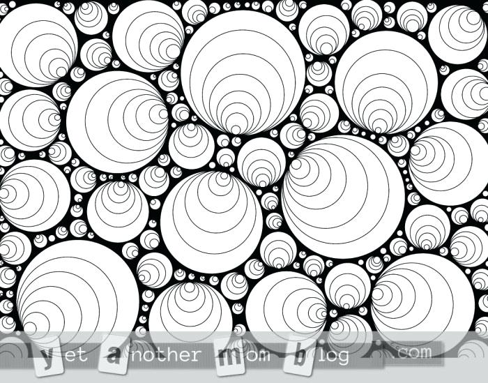 700x549 Circles Coloring Pages