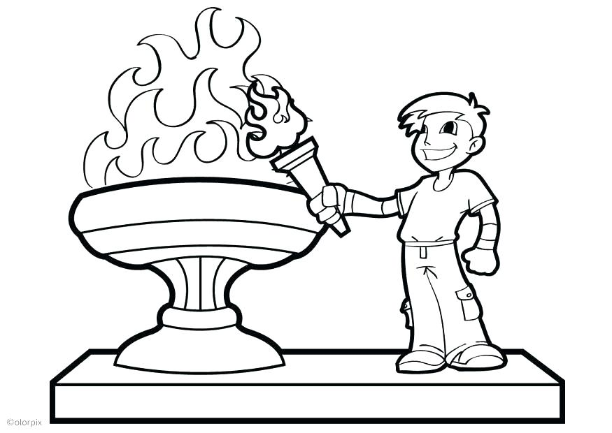 875x620 Free Printable Summer Olympic Coloring Pages Kids Coloring Rings