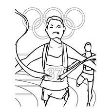 Olympic Sports Coloring Pages