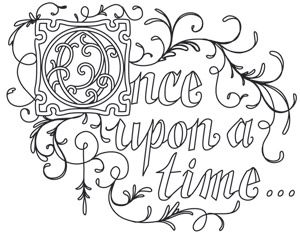 Once Upon A Time Coloring Pages