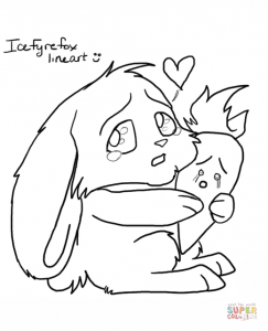243x300 Bunny With Carrot Coloring Pages Cartoon Download