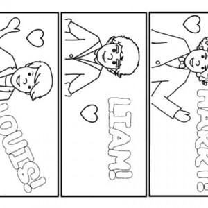 One Direction Cartoon Coloring Pages At Getdrawings Com Free For