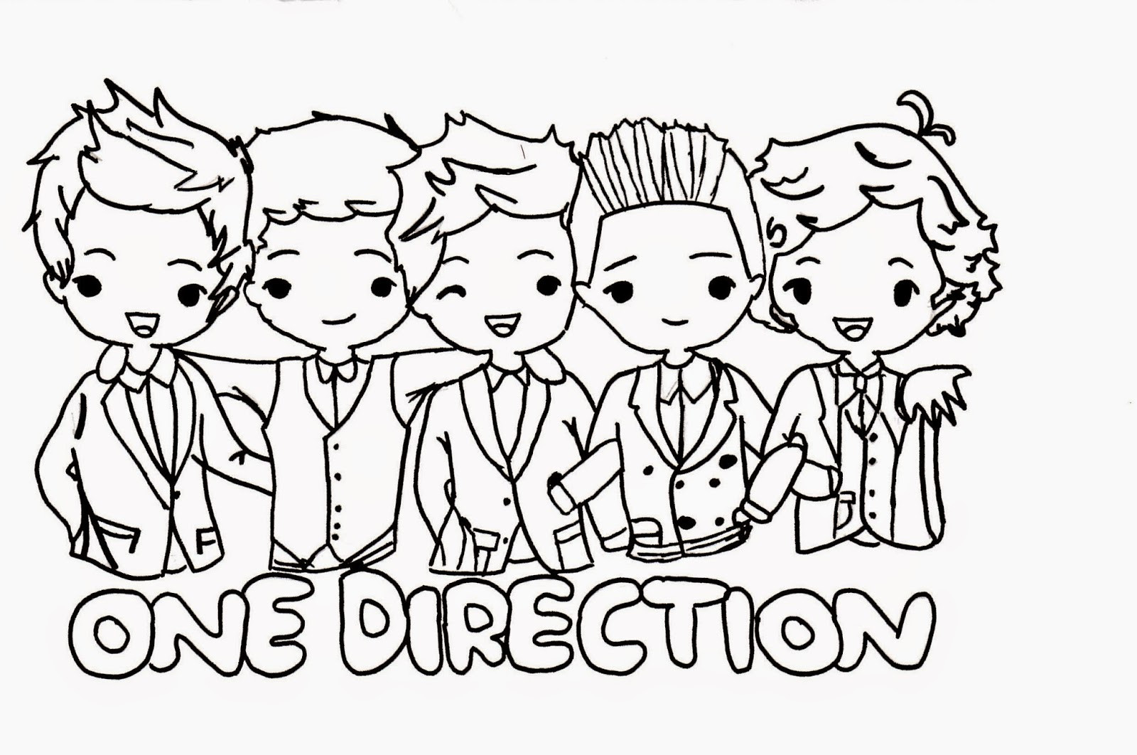 1600x1062 Competitive One Direction Printable Coloring Pages Fiscalreform