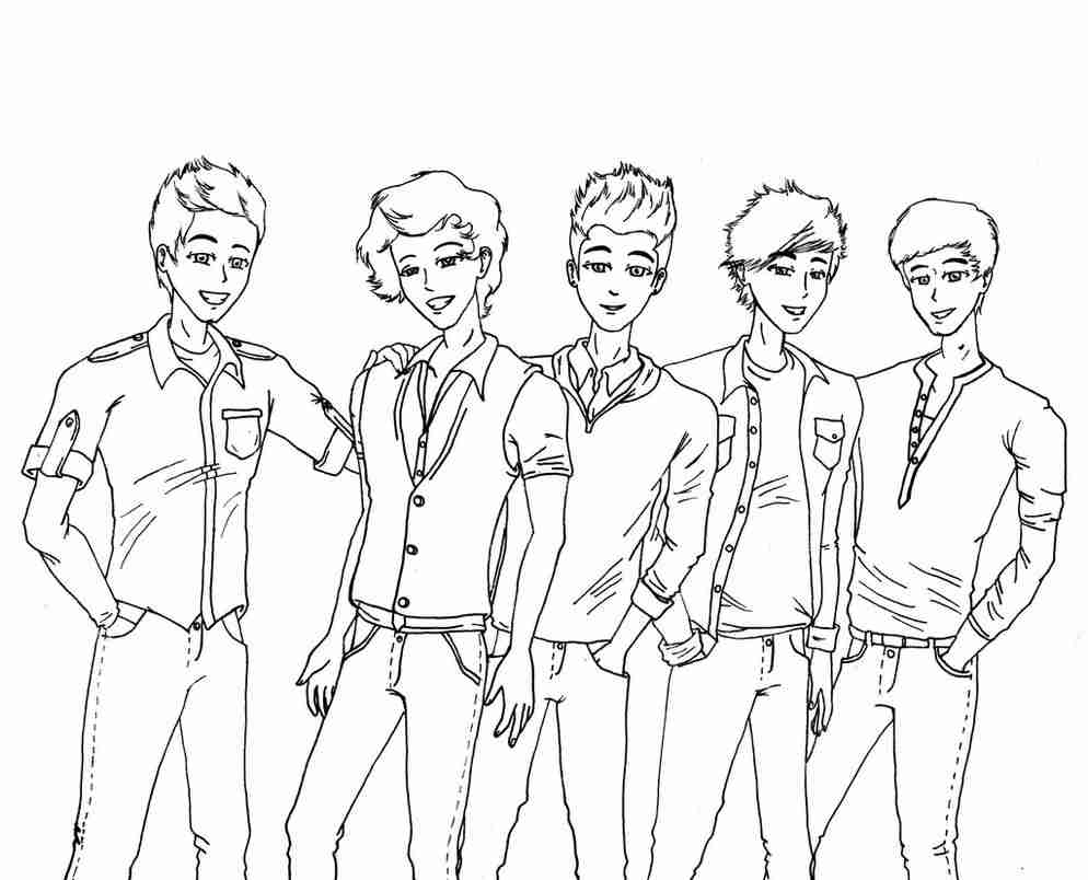 994x804 Exploit One Direction Coloring Pages Harry