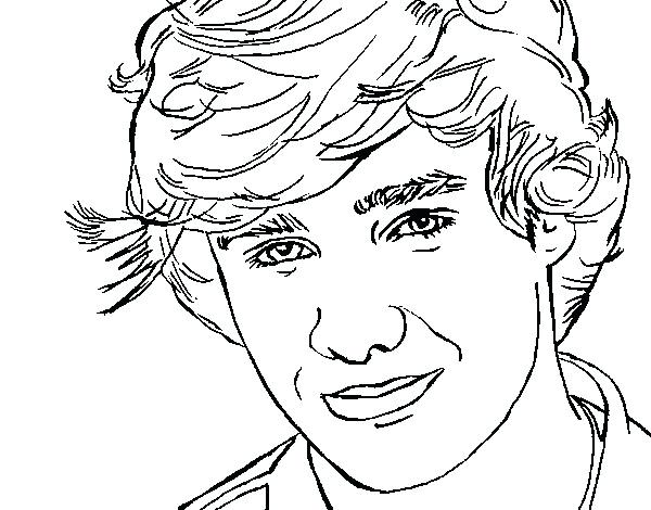 600x470 Harry Styles Coloring Pages Luxury Harry Styles Coloring Page One