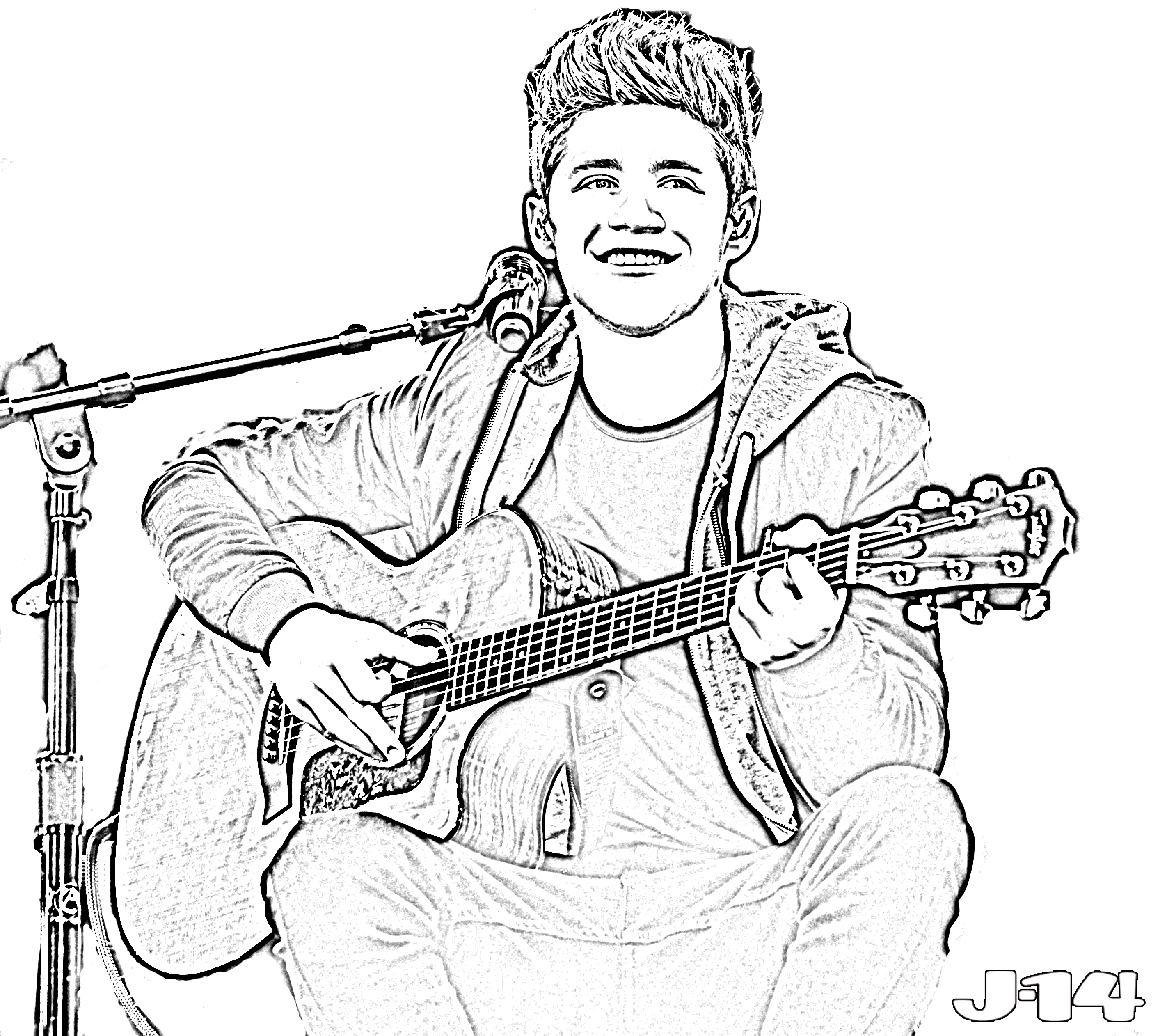 2844x2524 Printable One Direction Coloring Pages
