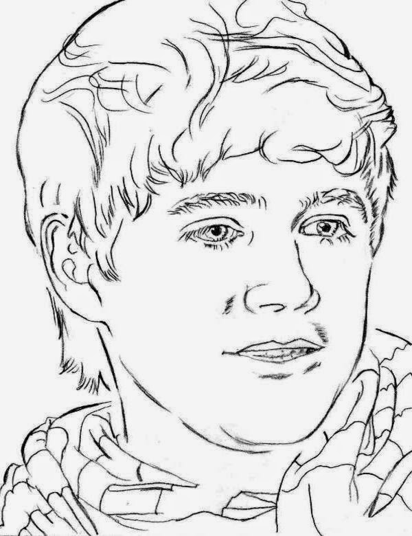 600x780 One Direction Coloring Pages Compilation Free Coloring Pages
