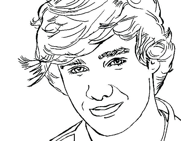 600x470 Harry Styles Coloring Pages Anime Sailor Moon Princess Coloring