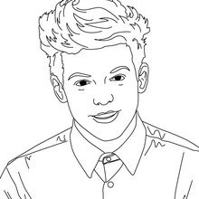 220x220 Louis Tomlinson Coloring Page