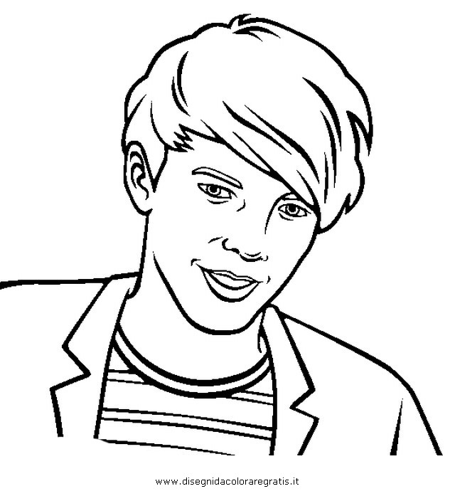 One Direction Coloring Pages Louis At Getdrawings Com Free For