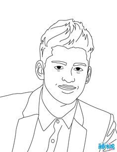 236x305 Louis Tomlinson One Direction Coloring Page Check It Out One