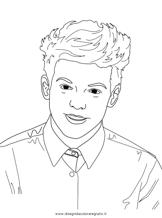 640x860 One Direction Coloring Pages Colouring Pages For One Direction E