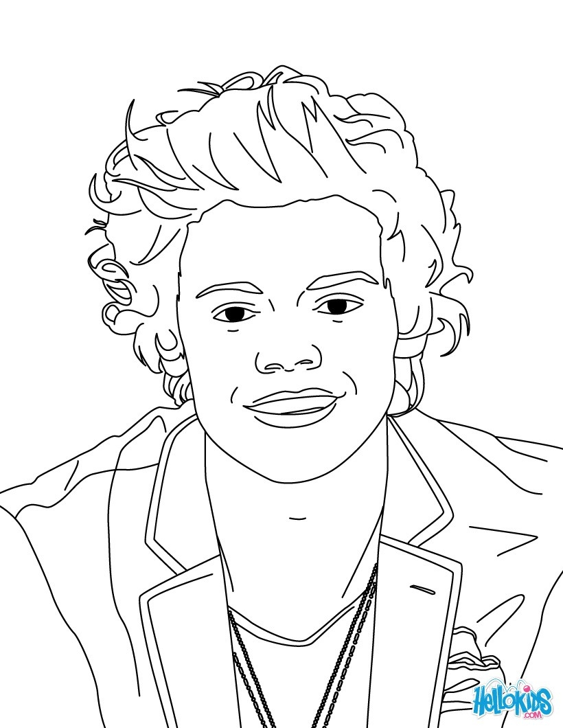 820x1060 One Direction Coloring Pages Louis Collection Coloring For Kids