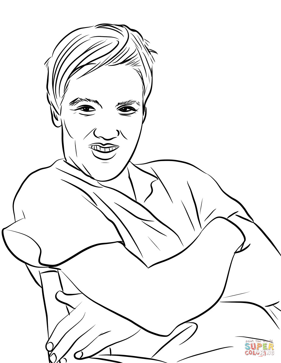 921x1192 Related Keywords Suggestions For One Direction Coloring Pages Louis