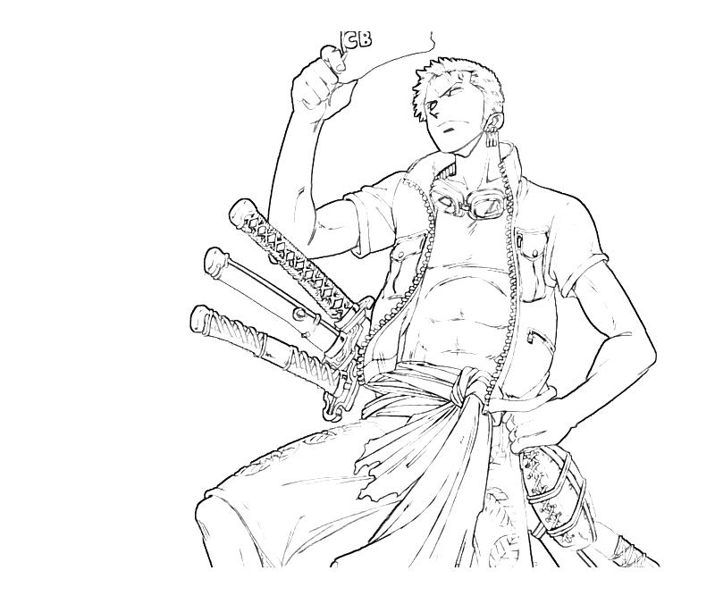 One Piece Coloring Pages At Getdrawings Com Free For