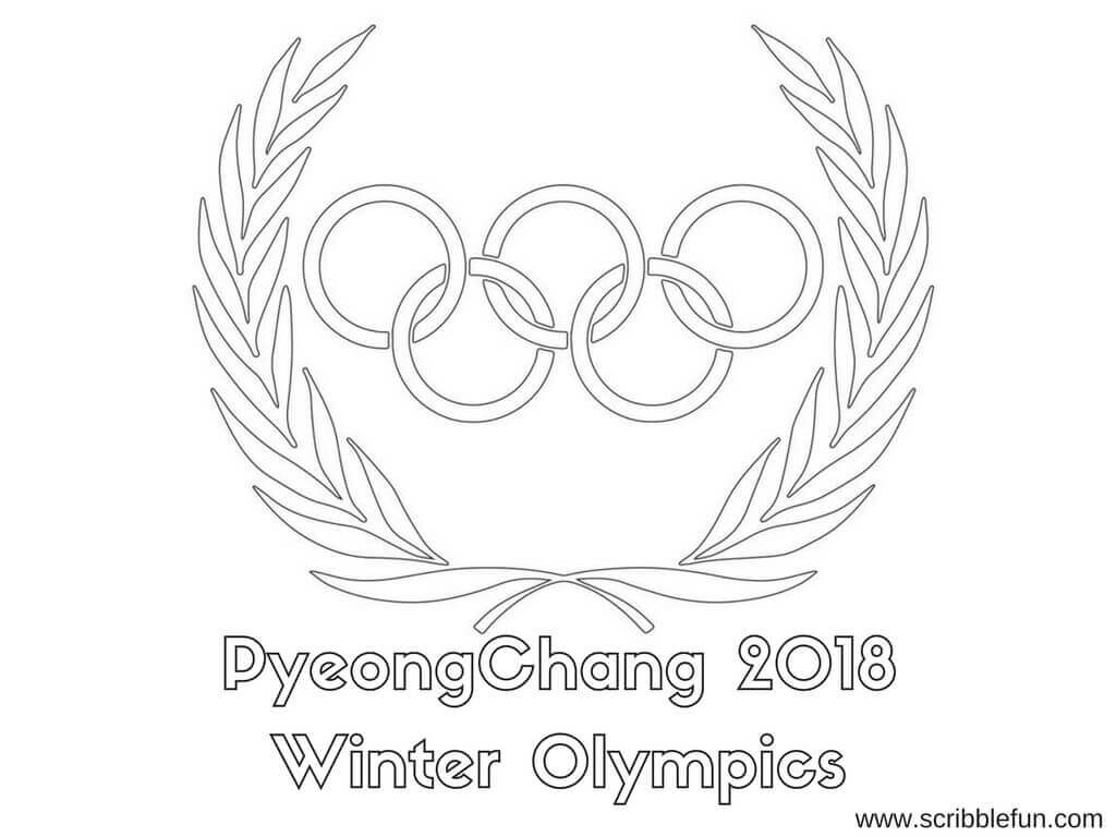 1024x768 Free Printable Winter Olympics Coloring Pages