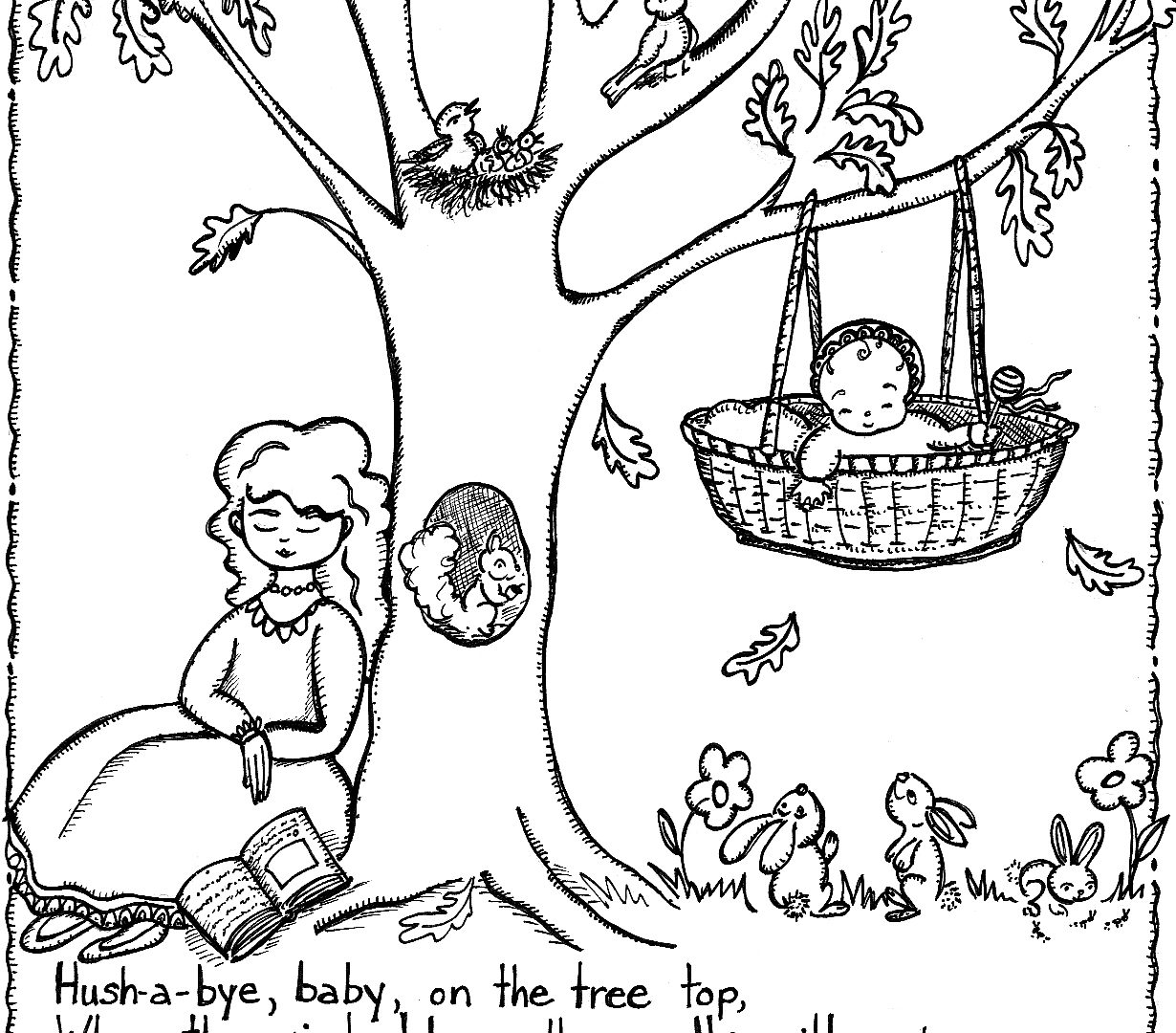 1230x1080 Jack And Jill Free Download Clip Art Coloring Pages Printable