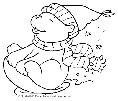 400x343 Coloring Page Tuesday