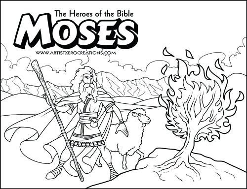 500x384 Bible Coloring Pages The Heroes Of The Bible Coloring Pages