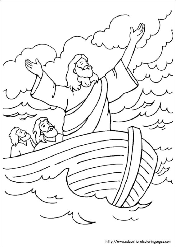 567x794 Bible Story Coloring Pages