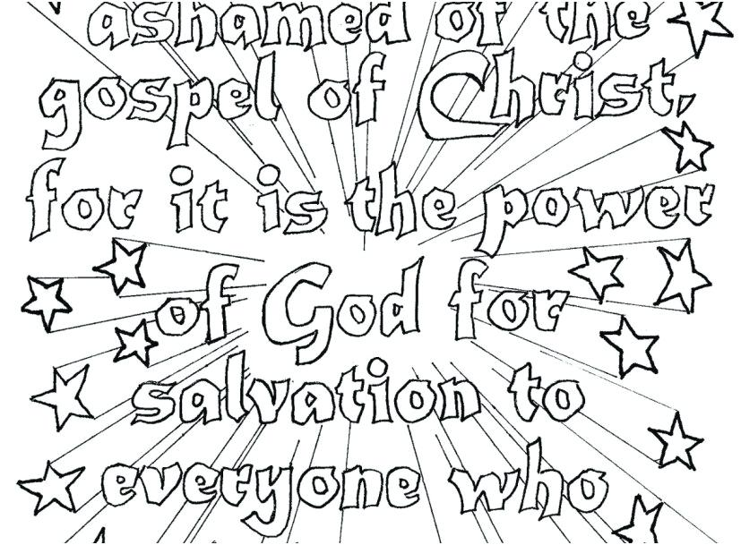 827x609 Gospel Coloring Pages Faith In Bible Coloring Pages Online