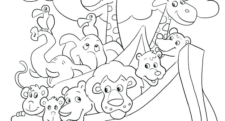 728x393 Printable Bible Coloring Pages Kids
