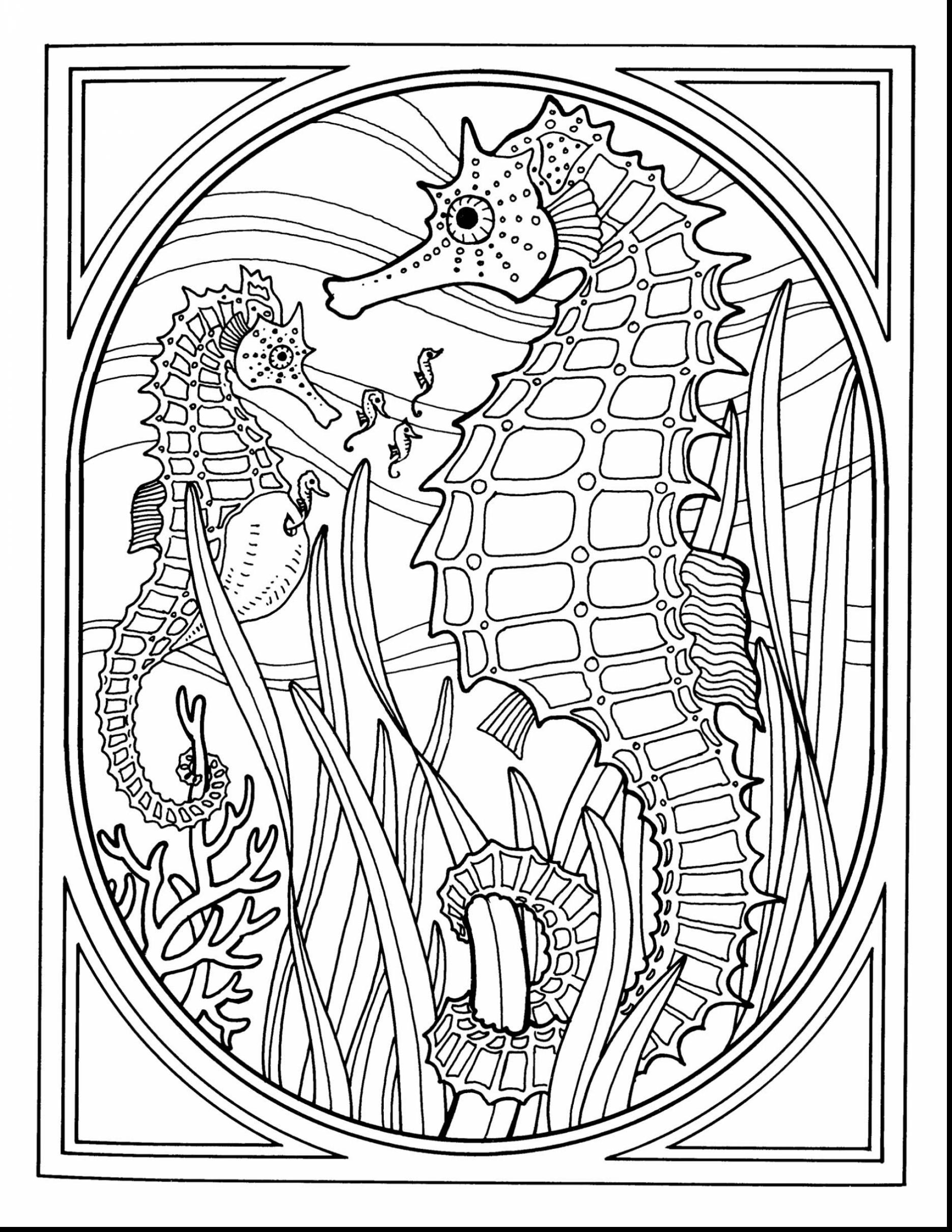 1870x2420 Fundamentals Sea Life Online Coloring Pages Awesome Adult Mandala