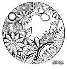 236x243 Mandala Coloring Page Free Sample Join Fb Grown Up Coloring