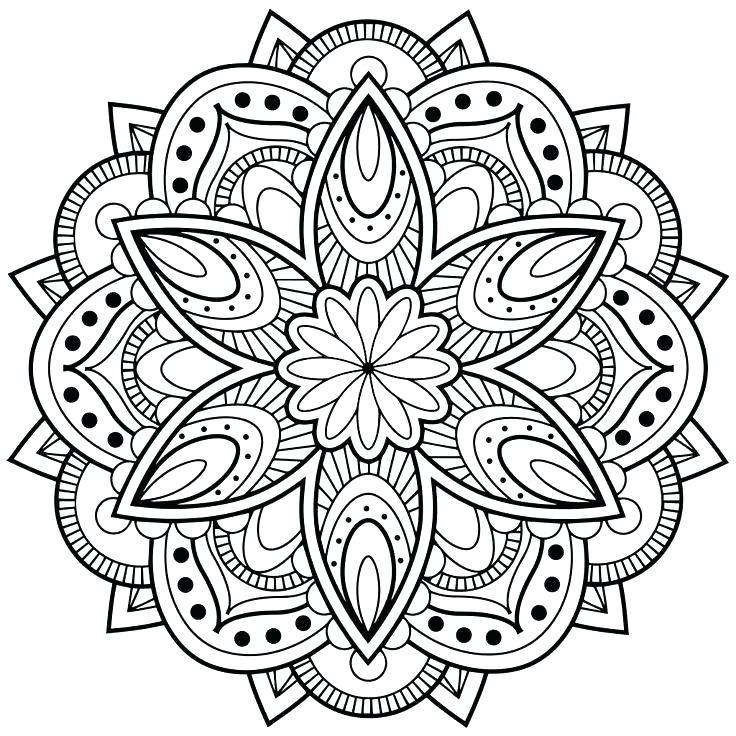 736x736 Mandala Coloring Pages Online Mandala Coloring Pages Online Line