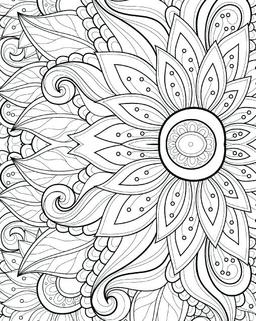 508x636 Coloring Pages Adults