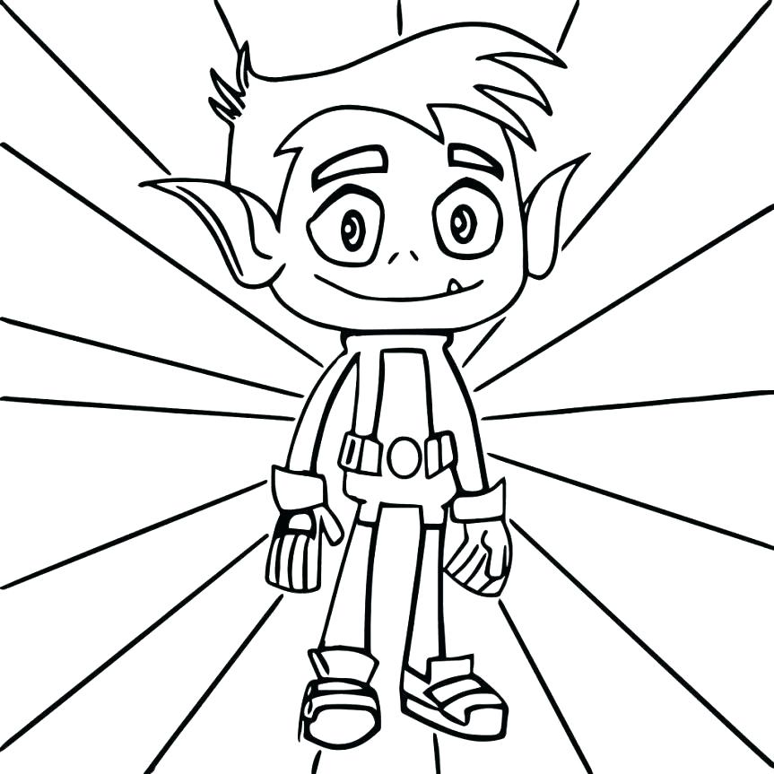863x863 Teen Titan Coloring Pages Teen Titans Color Pages Coloring Pages