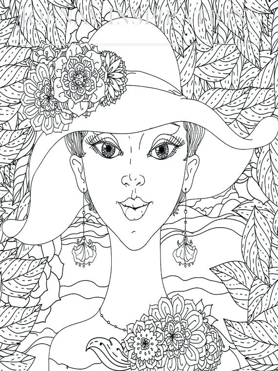 570x759 Marilyn Monroe Coloring Pages Adult Coloring Book Printable