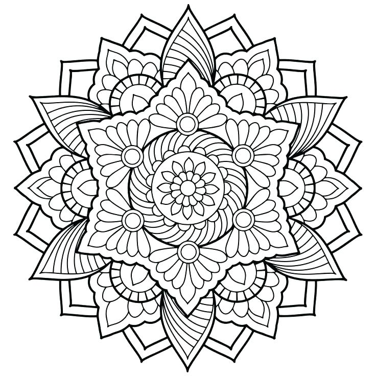 736x736 Free Coloring Pages For Adults Only