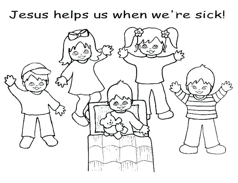 765x587 Heals Coloring Page Heals The Blind Man Coloring Page Open Heals