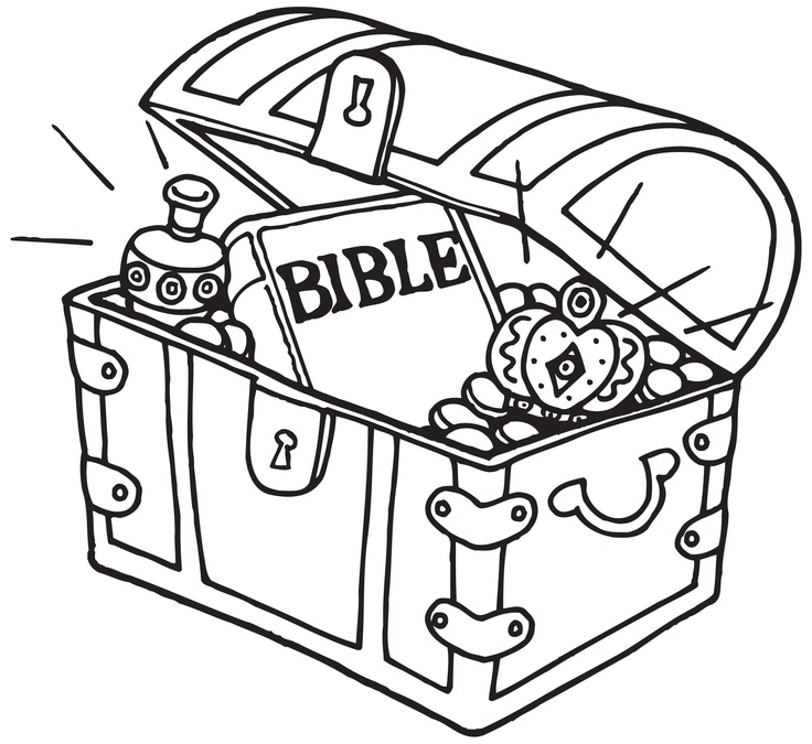 736x675 Hidden Treasure Bible Story Related Colouring Pictures