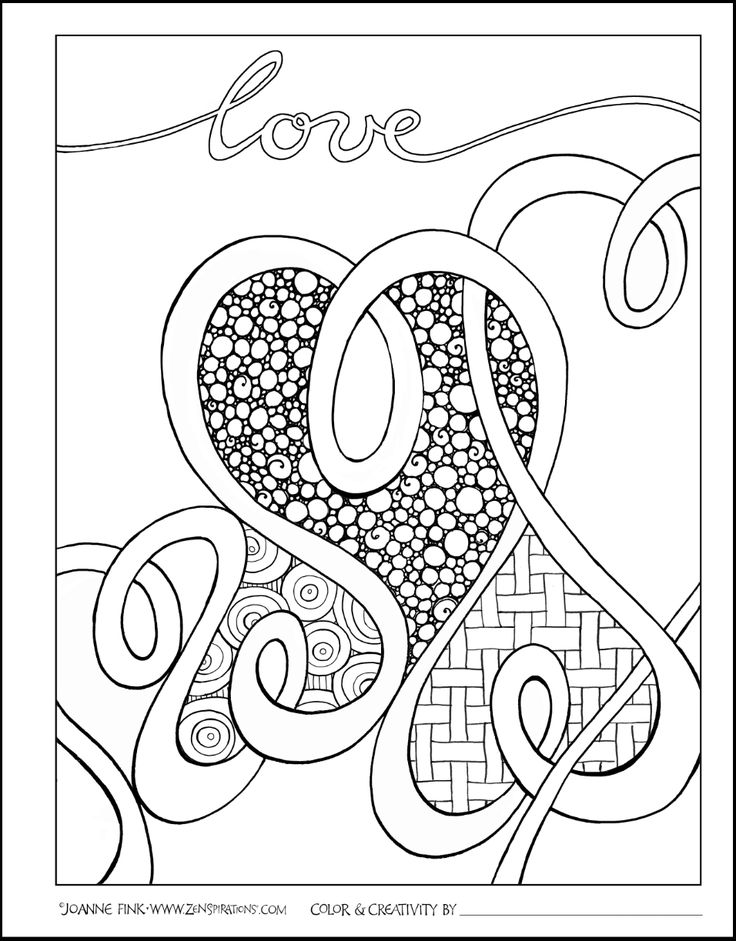Open Coloring Pages