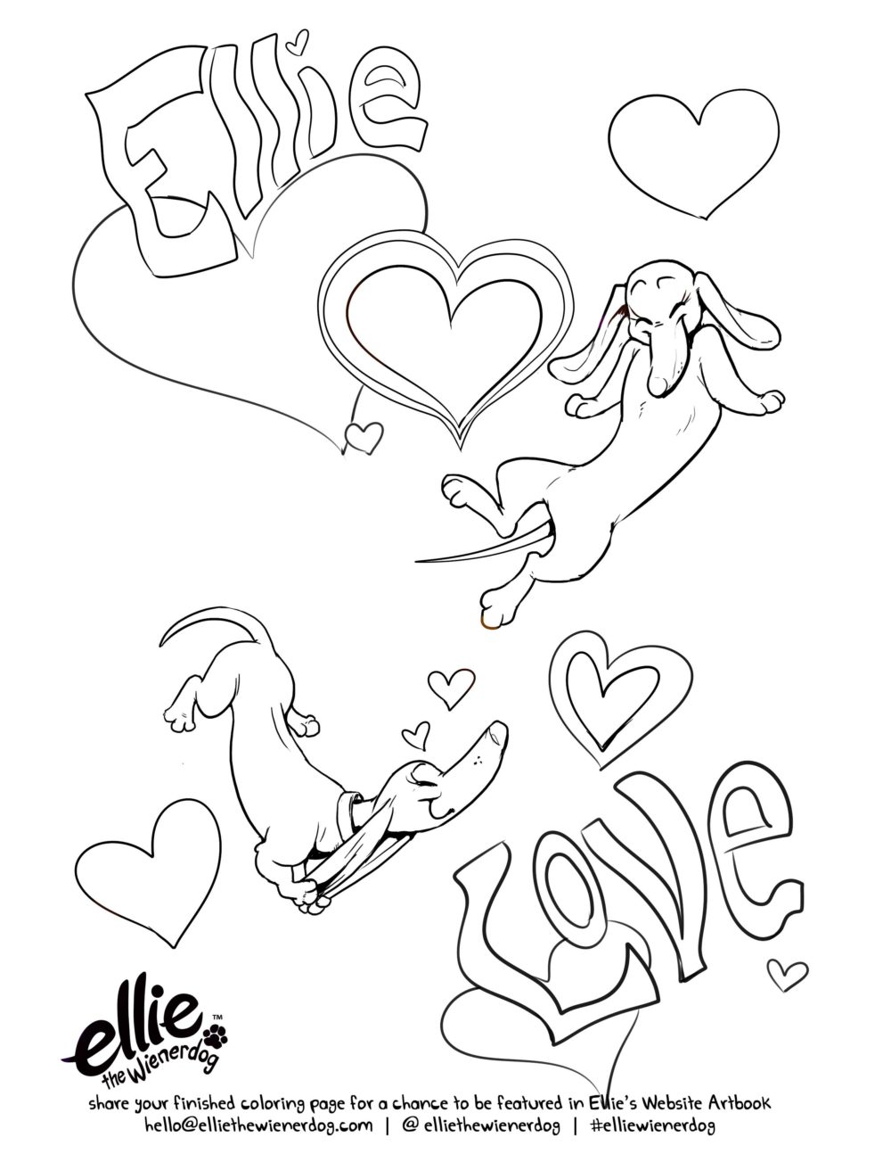 1000x1294 Love Is So Colorful, Love Coloring Page Open Door Press