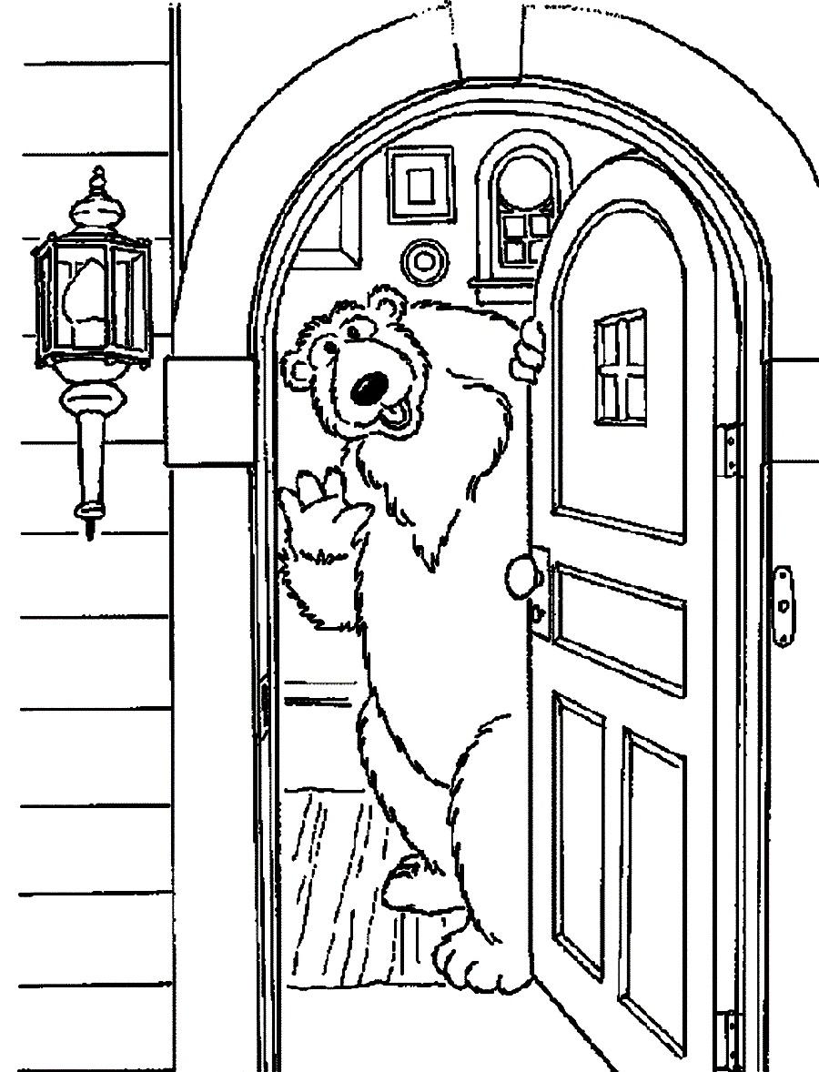 900x1178 Best Photos Of Open Door Coloring Page