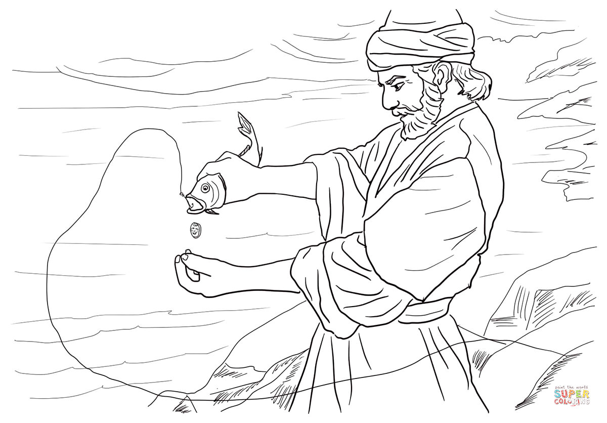 1200x836 Free Christian Coloring Pages For Kids, Children, And Adults