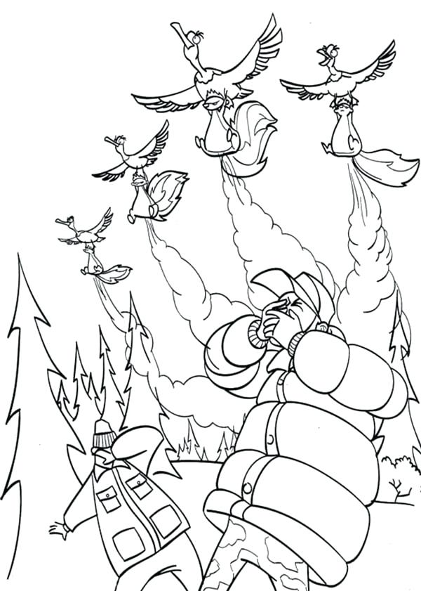 600x841 Open Season Coloring Pages For Kids Bulk Color Open Season