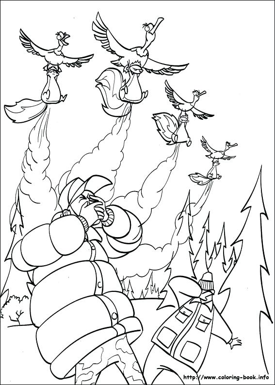 567x794 Open Season Coloring Pages Open Season Coloring Picture Open